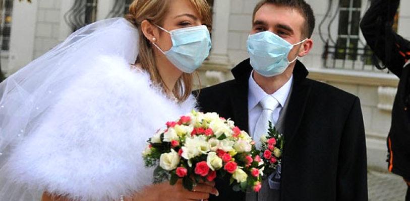 Свадьба в масках